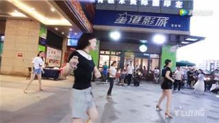 龙港财富广场舞蹈快闪求婚